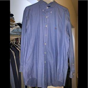 Men's Polo By Rauren Button Down Dress shirt